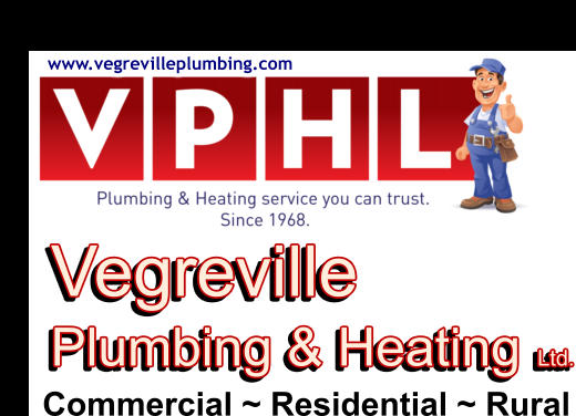 www.vegrevilleplumbing.com Vegreville Plumbing & Heating Ltd. Vegreville Plumbing & Heating Ltd. Commercial ~ Residential ~ Rural